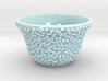 DRAW tea bowl - lumpy bumpies 3d printed