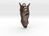 Mustang Head Pendant 3d printed