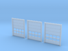 N Scale 3x Overhead Door #2 3d printed