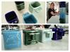 Tradeshift Espresso Coffee Cup 3d printed Tradeshift Espresso Cups - Gloss blue, oribe green, celadon green, cobalt blue