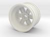 Wheel Design V 3d printed