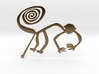 Nazca: The Monkey 3d printed