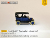 Ford Model T - closed roof (TT 1:120) 3d printed