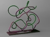 Object No. 12 3d printed Snakes in love