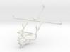 Controller mount for PS4 & Lenovo A7-30 A3300 3d printed