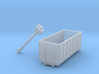 N Scale Screw Conveyor 5m45d +container 3d printed