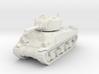 1/100 (15mm) M4 Sherman (F.O.W) Tank One 3d printed