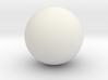 Solid Sphere (6.5cm diameter) 3d printed