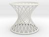 Hyperboloid: Ruled 3d printed
