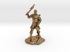 Human Ranger With Axe 3d printed