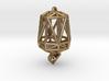Poly Cashew Jewel 3d printed