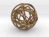 Woven Globe Pendant 3d printed
