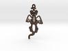 Ferret Angel Keychain 3d printed