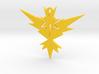 POKEMON Team Instinct (Yellow) Pendant  3d printed Colour