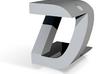 Fan art DZFest pendant Helvetica  Font 3d printed
