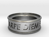 Carpe Diem Ring 5 Inch Diameter 3d printed