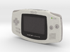1:6 Nintendo Game Boy Advance (Arctic) 3d printed