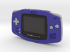 1:6 Nintendo Game Boy Advance (Indigo) 3d printed