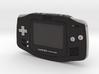 1:6 Nintendo Game Boy Advance (Black) 3d printed