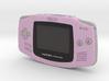 1:6 Nintendo Game Boy Advance (Fuschia) 3d printed