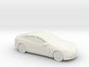 1/87 2012-16 Tesla Model S 3d printed