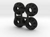 4X Axial SCX10 Shock Spring Perch 3d printed