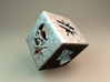 Blood Bowl Block Dice v2 3d printed Steel looks good! Chose material on the right side =>