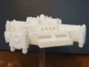 Spacestation Omega 3d printed Unpainted white and strong