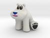 Polar Bear from Crash Bandicoot (without base) 3d printed