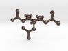 Nitroglycerin Molecule Pendant 3d printed
