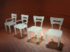 1:48 Moderne Dining Set 3d printed