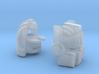 """Chic-Capitan Head """"TFCC"""" version 3d printed"""