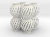 Lamp Ball Twist Spiral Column 4 Small Scale 3d printed