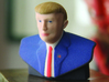 """The Donald"" Trump Statue 3d printed ""The Donals"" Trump Statue - Actual"