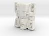 Fembot HeadNurse Face (Titans Return) 3d printed