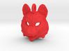 Plastic Husky Small Pendant 3d printed