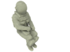NASA Space Shuttle Crew Mission Specialist 3d printed