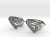 Superman Cufflinks 3d printed