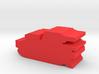 Game Piece, Imperium Medium Tank 3d printed
