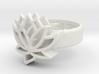 US7 Ring XXV: Tritium (Silver) 3d printed
