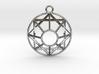 Mel-Giza-Dek Symbol 3d printed