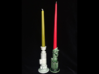 Dark Side Candlestick 3d printed Light Side and Dark Side Candle Holders