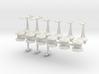 MicroFleet AstroGator Carrier Group (21 Pcs) 3d printed