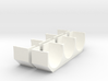 AlumTriFender Flattop 2 Set 3d printed