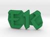 The Emerald Knights Badge1, EK letters 3d printed
