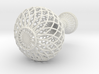 Flowerpot In Wireframe 3d printed