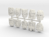 Titans Return Sampler Pack 3d printed