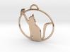 Friendly Cat Pendant 3d printed