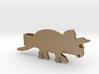 Triceratops Tie Clip 3d printed