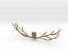 Owl pendant 3d printed
